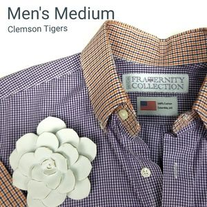 Clemson Tiger  Fraternity Collection M Shirt
